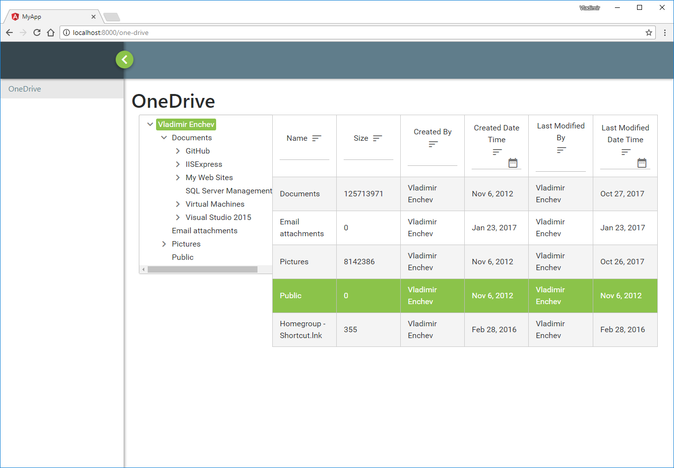 Manage your OneDrive using Radzen, MSGraph and Azure AD - Part I